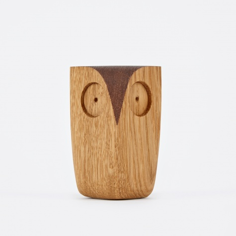 Small Owl - Wood