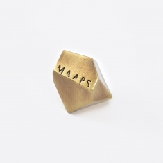 M A A P S Metal Incense Holder - Brass