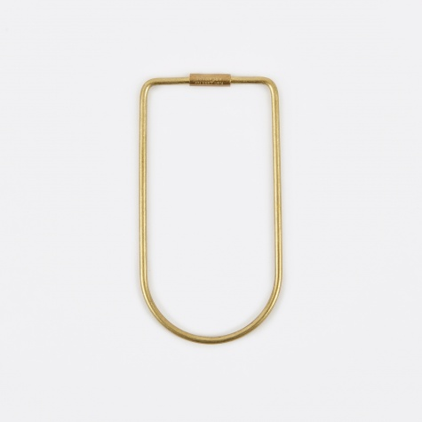 Contour Key Ring - Bend