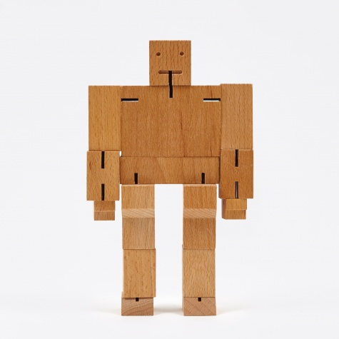Medium Cubebot - Natural