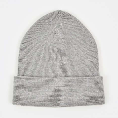 Merino Beanie - Light Grey Melange