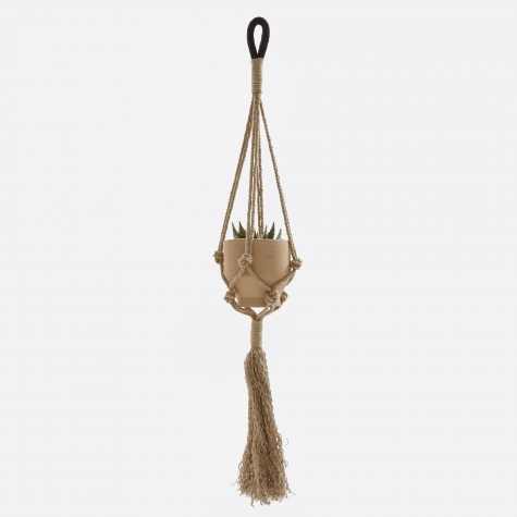 Hemp Plant Hanger - Black