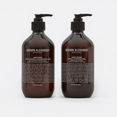 Hand Wash & Handcream 500ml Twin-Set