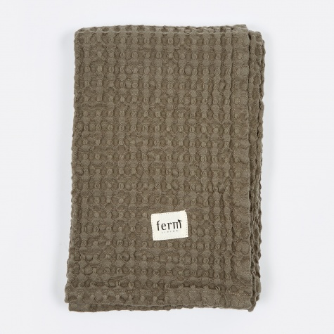 Organic Bath Towel - Dark Grey