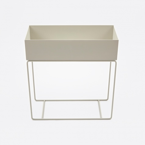 Plant Box - Light Grey