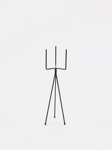 Low Plant Stand - Black