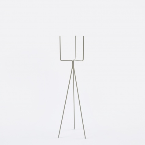 Low Plant Stand - Grey