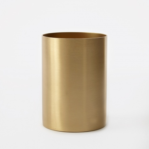 Pencil Cup - Brass