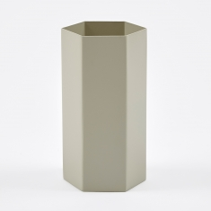 Ferm Living Hexagon Vase - Grey