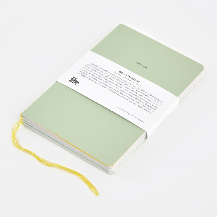 The School of Life School of Thought Notebooks - The Buddhists (Image 1)