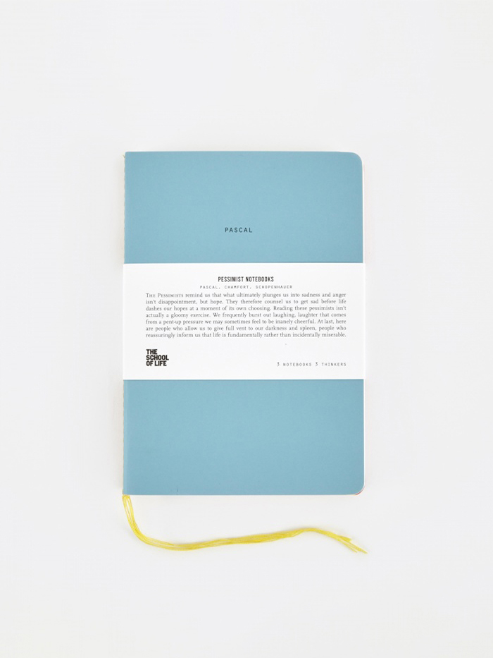 The School of Life School of Thought Notebooks - The Pessimists (Image 1)