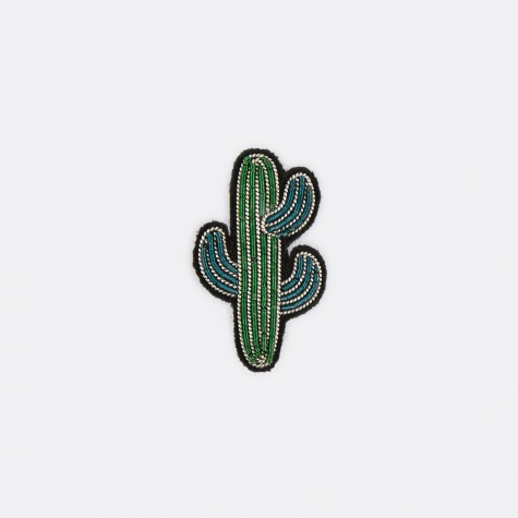 Small Cactus Embroidered Pin