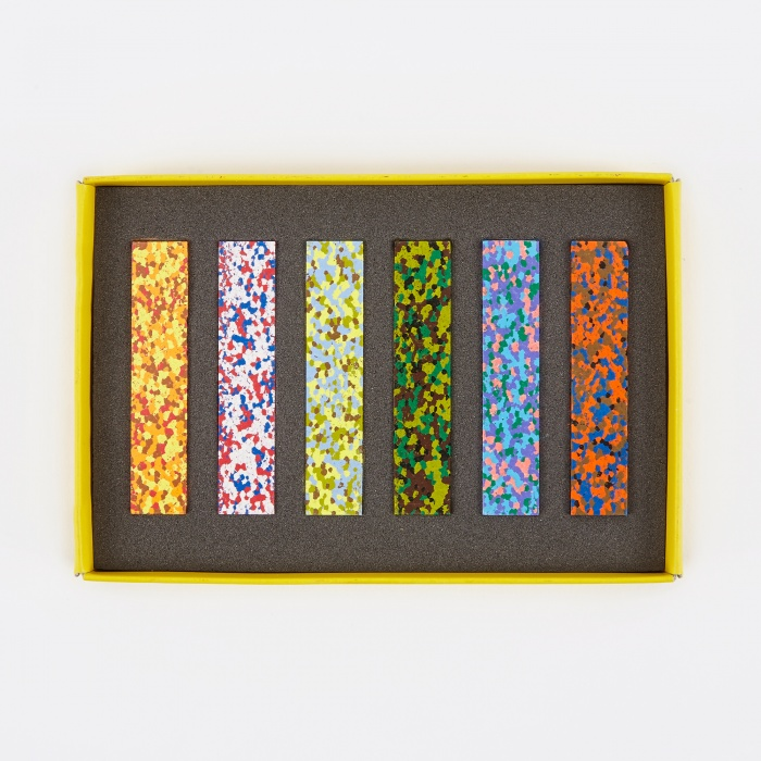 Aozora Dot Musee Multi-Color Crayon Stick - Set of 6 (Image 1)