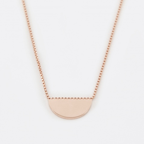 CONVEX Necklace - Rose Gold