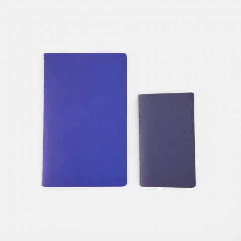 Study Notebooks S / M - Dark Blue / Bright Blue