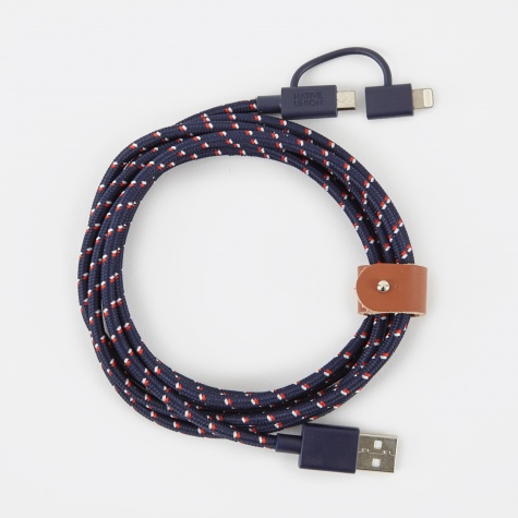 BELT Cable Twin Head 2M - Nautical