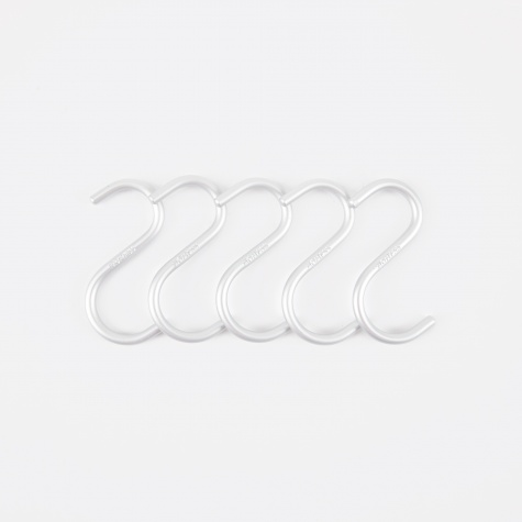 S-Hook Mini - Alu (5 Pack)