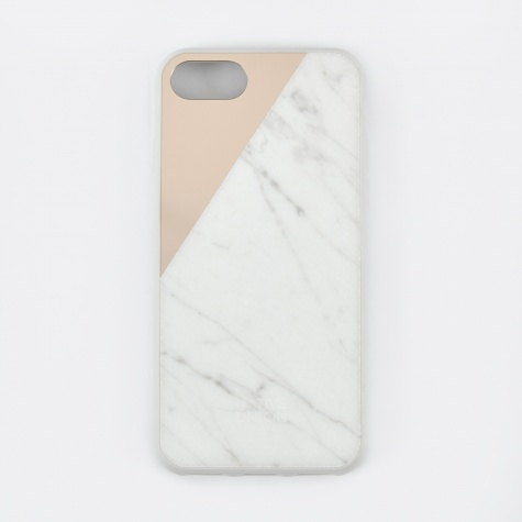 Clic Marble iPhone 7 Case - White