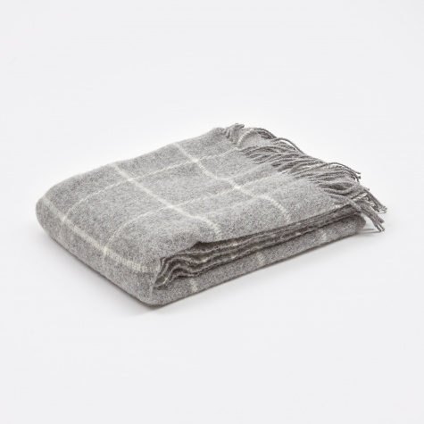 Vinga Throw 130x200cm - Light Grey