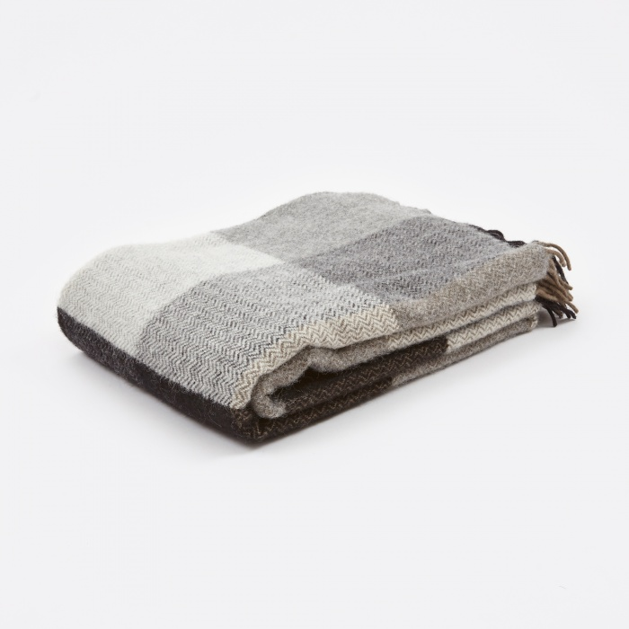 Klippan inez throw 130x200cm grey for Housse klippan