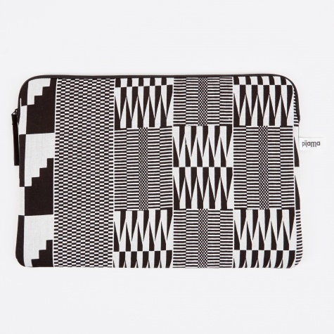 "Zip Case for Macbook 15"" - Wax Black"