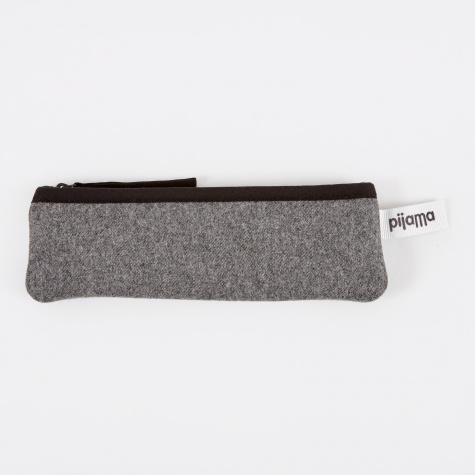 Pencil Pocket - Grey Flanel