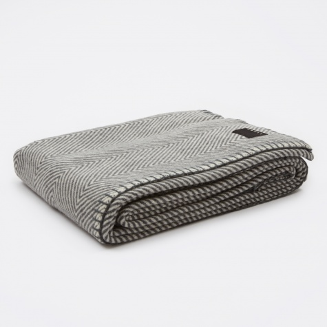 Empire Throw 130x170cm - Dark Charcoal Grey