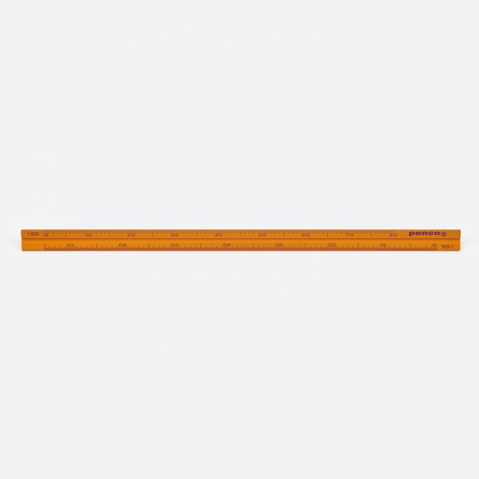 Hightide | Penco Penco Drafting Scale Ruler - Gold (Image 1)