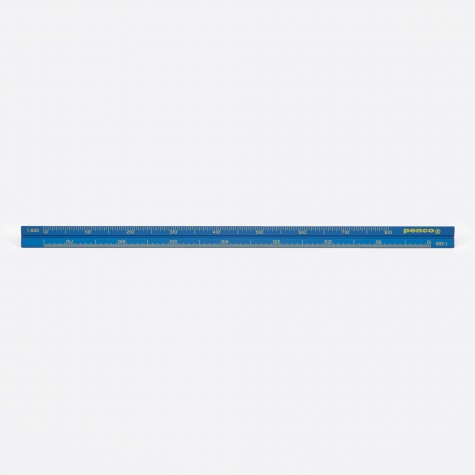 Penco Drafting Scale Ruler - Blue