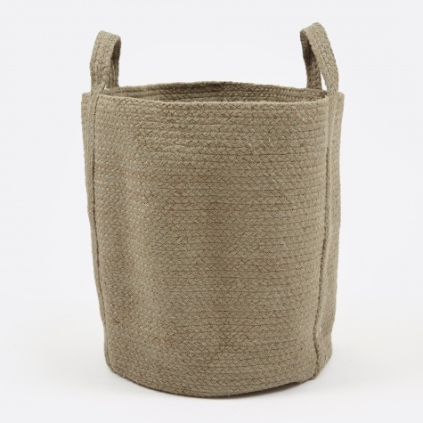 Round Basket - Green
