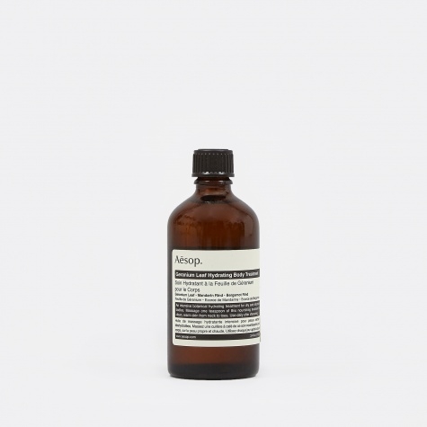 Geranium Leaf Hydrating Body Treatment - 100ml
