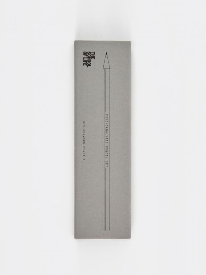 The School of Life Psychoanalytic Pencil Set (Image 1)