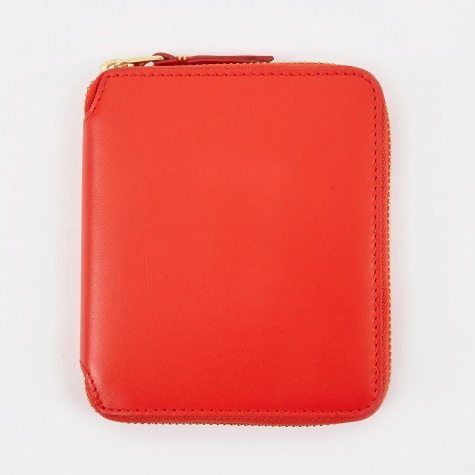 Comme Des Garcons Wallet Classic Leather M - (SA2100) - Orange