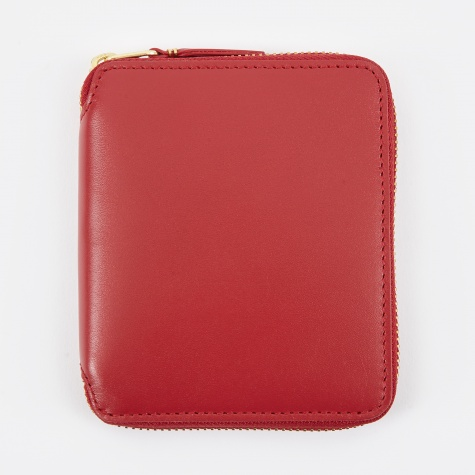 Comme Des Garcons Wallet Classic Leather M - (SA2100) - Red