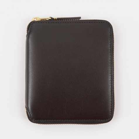 Comme Des Garcons Wallet Classic Leather M - (SA2100) - Black