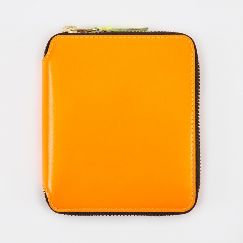 Comme des Garcons Wallet Super Fluo M (SA2100SF) - Light Orange