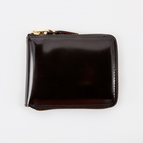 Comme des Garcons Wallet Mirror Inside XS (SA7100MI) - Black/Gol