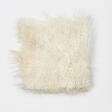 Tibetan Sheep Chair Pad 'Lamb' - White