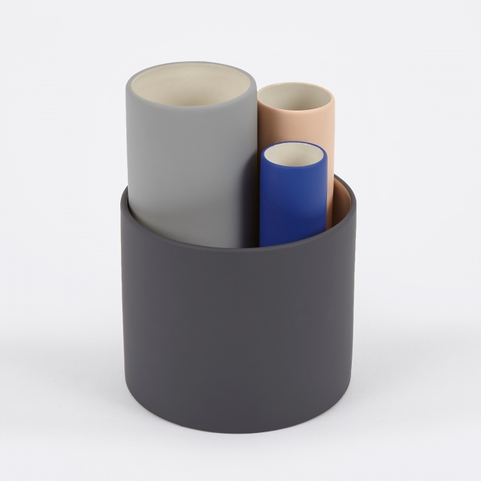 Ferm Living Collect Vases (Set Of 4) - Multi (Image 1)