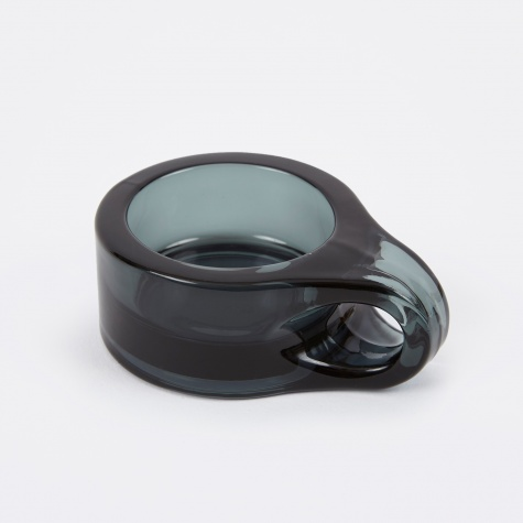 Floe Tealight Holder - Smoke