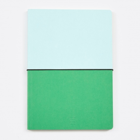 HIBI A5 Notebook - Green