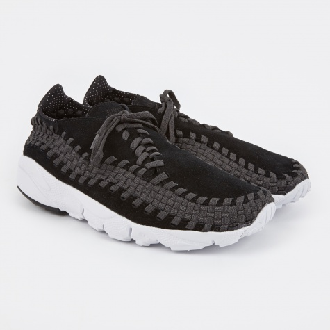 Air Footscape Woven NM Shoe - Black/Black-Anthracite-White