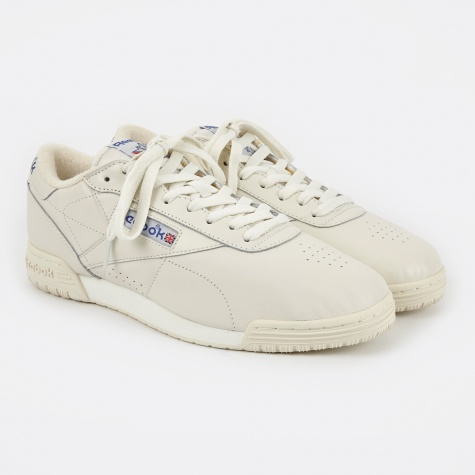 Exofit Lo Clean Vintage - Chalk/Classic White/Red