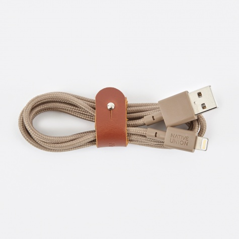 BELT Cable 1.2M - Taupe