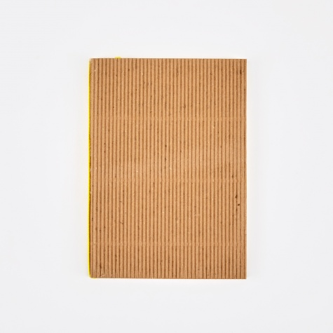 Corrugated Notebook A6 - Brown