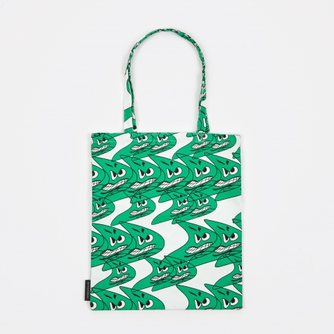 Wrong for Hay Bernhard Willhelm Tote Bag - Green