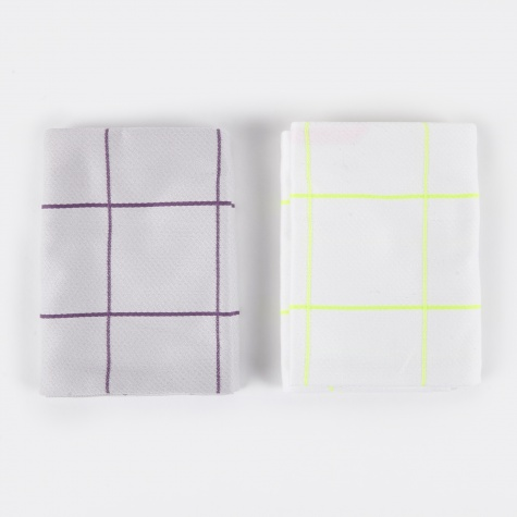 Tea Towels Kitchen Tiles - Set of 2