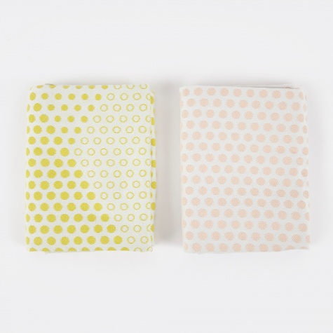 Tea Towels Landscape Dots - Set of 2
