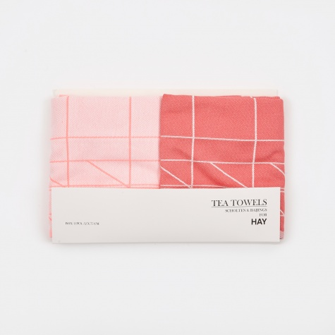 Tea Towels Box - Set of 2