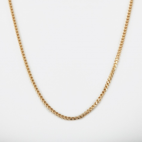 Franco Chain - 9k Yellow Gold